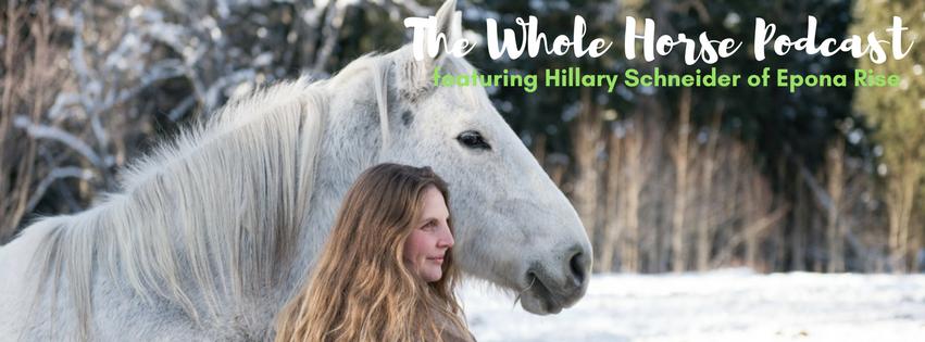Episode 13 |  Horse medicine and building bridges with Hillary Schneider