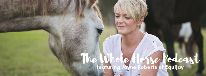Episode 50 | Slowing down in challenging times with Jayne Roberts of Equijay