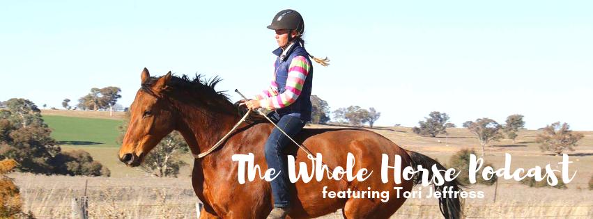 Episode 26 | Bridleless and balanced riding with Tori Jeffress