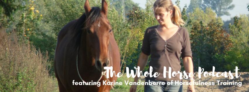 Episode 55 | Horses and your breath with Karine Vandenborre of Horsefulness Training