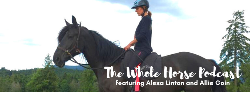 Episode 61 | Meeting Raven + learning with horses with Alexa and guest host Allie Goin